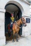 LONDEN - JULI 30: De koningen verzamelen zich Koninklijke Paardartillerie in Whitehal Stock Afbeeldingen