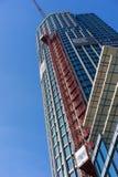 LONDEN - JUNI 10: Bouw van de Toren van de Zuidenbank in Londo Stock Afbeeldingen