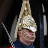 LONDEN - MAART 6: Badmeester van de Cavalerie van het Queenshuishouden  Royalty-vrije Stock Afbeeldingen