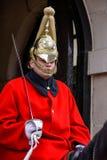 LONDEN - MAART 6: Badmeester van de Cavalerie van het Queenshuishouden  Royalty-vrije Stock Fotografie