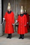 LONDEN - MAART 6: Badmeesters van de Cavalerie van het Queenshuishouden  Stock Afbeeldingen