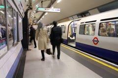 Metro van Londen Royalty-vrije Stock Fotografie