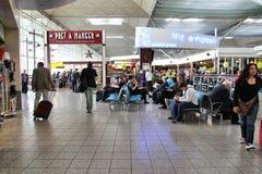 De Luchthaven van Londen Stansted Stock Afbeeldingen