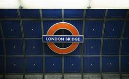 Londen, Mei, 11.2015 Londen Brug Royalty-vrije Stock Afbeelding