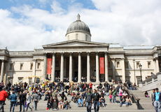 Londen - National Gallery Stock Foto's