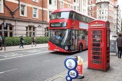 Londen Nieuwe Routemaster royalty-vrije stock foto