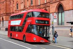 Londen Nieuwe Routemaster royalty-vrije stock foto's