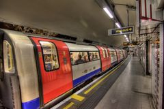 Londen ondergronds Royalty-vrije Stock Fotografie