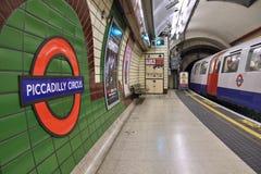 Londen ondergronds Stock Afbeelding