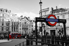 Londen ondergronds Royalty-vrije Stock Foto