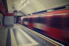 Londen ondergronds Stock Foto