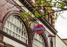Londen ondergronds in Camden Town Stock Afbeeldingen