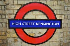 Londen Ondergrondse Roundel royalty-vrije stock afbeelding