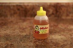 Londen Ontario Canada, 08 Maart 2018: Redactie Illustratieve foto van Billy Bee Honey Billy Bee Honey Products Company Royalty-vrije Stock Fotografie