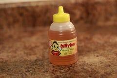 Londen Ontario Canada, 08 Maart 2018: Redactie Illustratieve foto van Billy Bee Honey Billy Bee Honey Products Company Royalty-vrije Stock Afbeeldingen