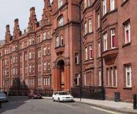 Londen, oud flatgebouw Royalty-vrije Stock Foto's