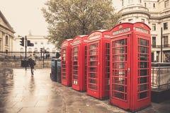 Londen Phonebooth Royalty-vrije Stock Foto's