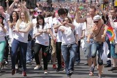 Londen Pride Parade 2013 Stock Fotografie