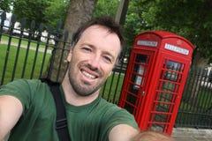 Londen selfie royalty-vrije stock fotografie