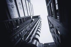 LONDEN - SEPTEMBER 21: Het Lloyds-gebouw Royalty-vrije Stock Foto