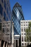 Londen - St Mary Axe Stock Foto's