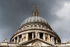Londen St. Paul Cathedral Royalty-vrije Stock Afbeelding