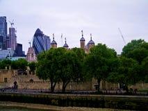 Londen, Toren, Torenbrug stock fotografie