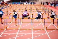Londen treft voorbereidingen: Olympische testgebeurtenissen Stock Foto