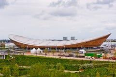 Londen treft voorbereidingen: Olympische testgebeurtenissen Stock Afbeeldingen