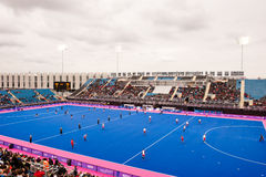 Londen treft voorbereidingen: Olympische testgebeurtenissen Royalty-vrije Stock Afbeelding