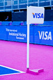 Londen treft voorbereidingen: Olympische testgebeurtenissen Stock Foto's