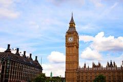 Londen van de Big Ben Westminster Royalty-vrije Stock Afbeeldingen