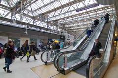 Londen Victoria Station royalty-vrije stock foto's