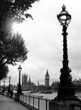 Londen Westminster en de Big Ben Stock Afbeeldingen