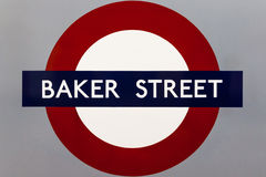 LONDON � AUGUST 6: Notting Hill Gate Underground station sign Stock Image