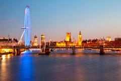 London öga Fotografering för Bildbyråer
