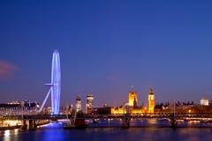 London öga Arkivbilder