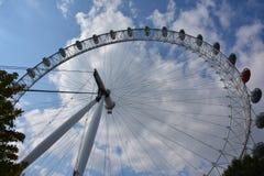 London öga på himmelbakgrund Royaltyfria Foton