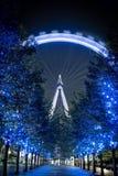 London öga på skymningen Royaltyfria Foton