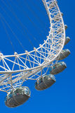 London ögonkapslar (milleniumhjulet), London, UK Arkivbilder