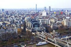 London-östliches Ende Stockbild