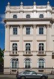 london Великобритания Жилая ария Belgravia Роскошное свойство в центре Лондона Строка периодических зданий стоковая фотография rf