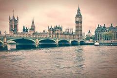 london ненастный Стоковое Изображение RF