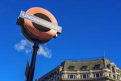 london подземный Стоковое фото RF