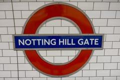 london подземный Стоковая Фотография