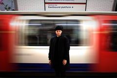 london подземный Стоковое Изображение