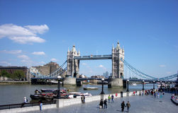 London 100. This is London Bridge Royalty Free Stock Photo