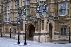 London. Houses of Parliament Stock Photo