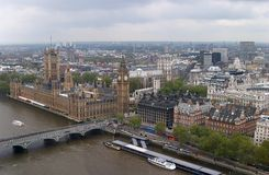 London. Houses of Parliament Royalty Free Stock Images