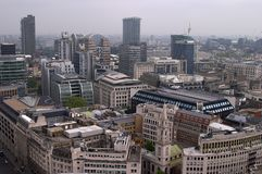 London. From above Stock Images